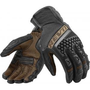 Rękawice motocyklowe Revit Sand 3 czarno-piaskowe wyprzedaż