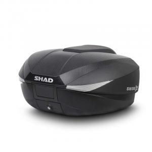 Top case SHAD SH58X Carbon (expandable concept) with PREMIUM lock