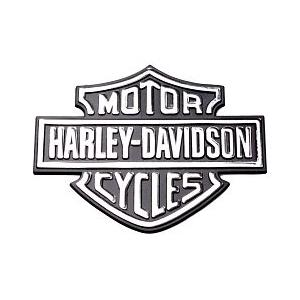 3D samolepka Harley-Davidson chrom