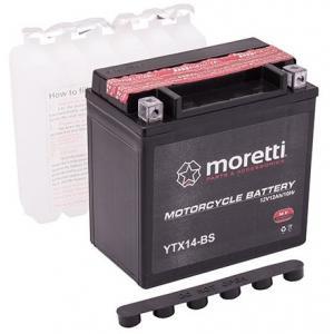 Bezobsługow akumulator żelowy Moretti MTX14-BS,12V 12Ah wyprzedaż