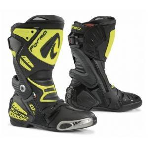 Buty motocyklowe Forma Ice Pro czarno-fluo żółte