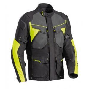 Kurtka motocyklowa IXON Crosstour HP czarno-żółta