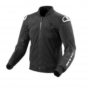 Kurtka motocyklowa Revit Traction czarno-biała wyprzedaż
