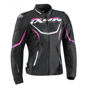 Damska kurtka motocyklowa IXON Sprinter czarno-różowa