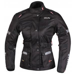 Damska kurtka motocyklowa RSA Gun czarna