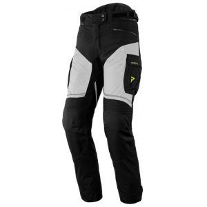 Damskie spodnie motocyklowe Rebelhorn Hardy II szaro-czarno-fluo żółte