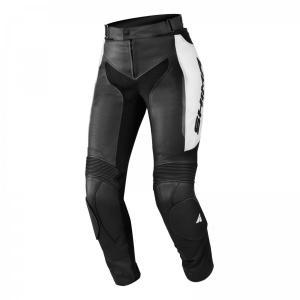 Damskie skórzane spodnie motocyklowe Shima Miura białe wyprzedaż