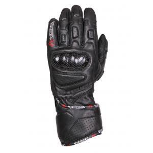 Damskie rękawice motocyklowe  RSA RX-1 czarne