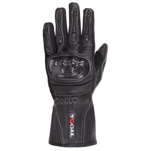 Damskie rękawice motocyklowe Tschul 211 czarne