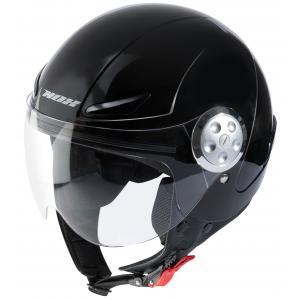 Dziecięcy otwarty kask motocyklowy NOX N216 czarny wyprzedaż