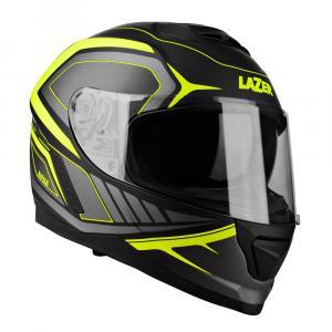 Integralny kask motocyklowy Lazer Rafale Hexa czarno-fluo żółty