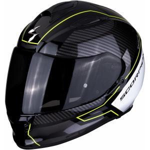 Integralny kask motocyklowy Scorpion EXO-510 Air Frame czarno-biało-fluo żółty wyprzedaż