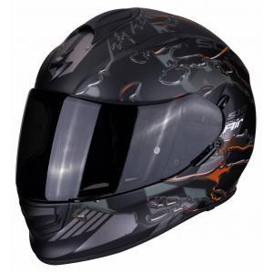 Integralny kask motocyklowy Scorpion EXO-510 Air Likid czarno-pomarańczowy wyprzedaż