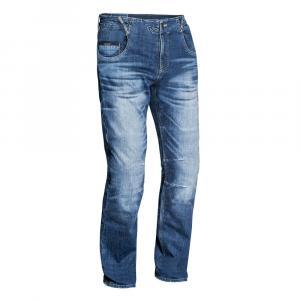 Jeansy motocyklowe IXON Buckler niebieskie wyprzedaż