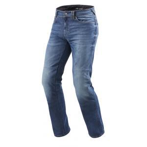 Jeansy motocyklowe Revit Philly 2 LF niebieskie skrócone wyprzedaż