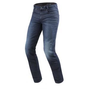 Jeansy motocyklowe Revit Vendome 2 RF niebieskie skrócone wyprzedaż