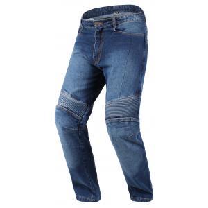 Jeansy motocyklowe RSA niebieskie