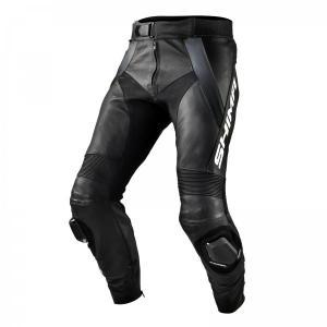 Skórzane spodnie motocyklowe Shima STR czarno-szare wyprzedaż