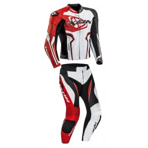Kombinezon motocyklowy IXON Falcon biało-czerwono-czarny