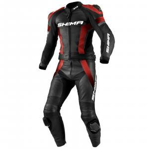Kombinezon motocyklowy Shima STR czarno-czerwony wyprzedaż