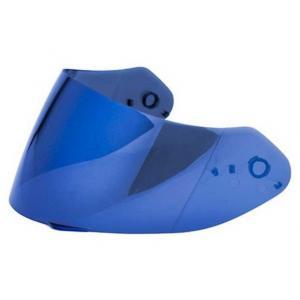 Niebieska szyba (lustrzanka) do kasków Scorpion Exo-390/410/510/710/1200/2000 Maxvision