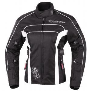Damska kurtka motocyklowa RSA SW-01 czarno-biała