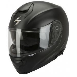Szczękowy kask motocyklowy Scorpion EXO-3000 czarny matowy
