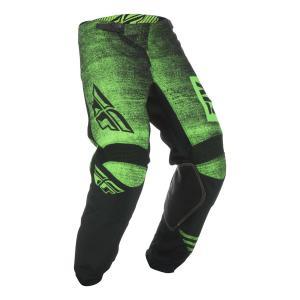 Motocrossowe spodnie FLY Racing Kinetic NOIZ 2019 - USA czarno-fluo zielone wyprzedaż