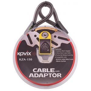 Stalowa linka z adapterem KOVIX KZA-150 wyprzedaż