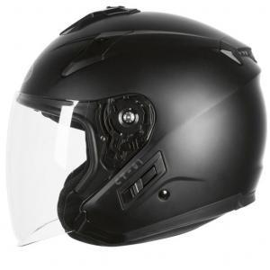 Otwarty kask motocyklowy Ozone CT-01 czarny matowy