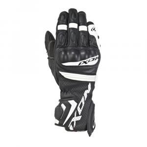 Rękawice motocyklowe IXON RS Tempo AIR czarno-białe