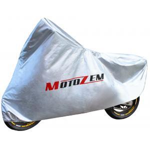 Pokrowiec na motocykl Motozem – srebrny