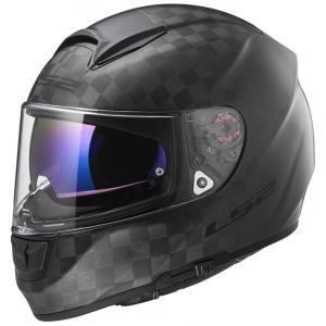 Integralny kask motocyklowy LS2 FF397 Vector Solid Carbon czarny matowy wyprzedaż