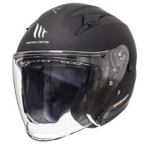 Otwarty kask motocyklowy MT Avenue SV czarny matowy