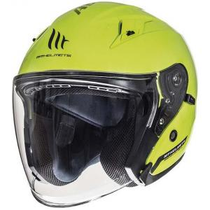 Otwarty kask motocyklowy MT Avenue SV fluo żółty