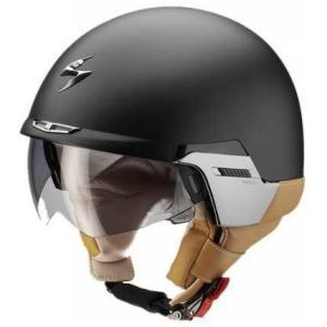 Otwarty kask motocyklowy Scorpion EXO-100 Padova II czarny matowy wyprzedaż