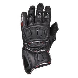 Rękawice motocyklowe RSA Spacer czarne