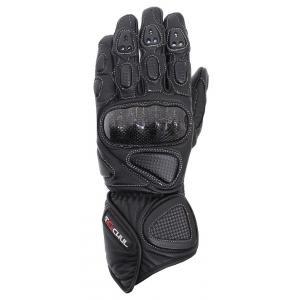 Rękawice motocyklowe Tschul 212 czarne