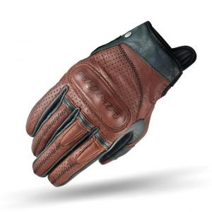 Rękawice motocyklowe Shima Caliber brązowe