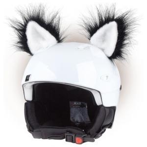Uszy na kask Kot czarne