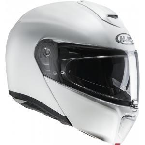 Szczękowy kask motocyklowy HJC RPHA 90 biały matowy wyprzedaż