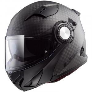 Szczękowy kask motocyklowy LS2 FF313 Vortex Solid Carbon
