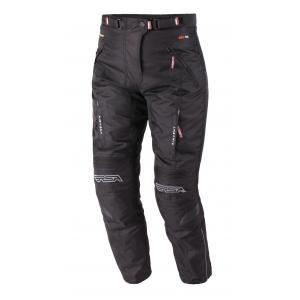 Skrócone damskie spodnie motocyklowe RSA Racer 2 czarne - II. jakość