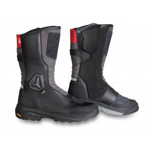 Buty motocyklowe Falco Tourance czarno-szaro-czerwone