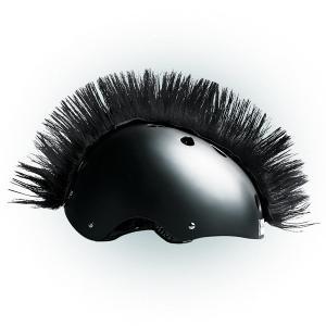 Číro na helmu Wiggystyle Mohawk černé