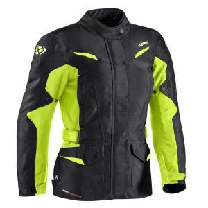 Damska kurtka motocyklowa IXON Summit 2 czarno-żółta wyprzedaż