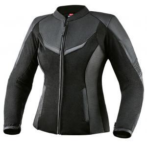 Damska skórzana kurtka motocyklowa Rebelhorn Rocket czarna wyprzedaż