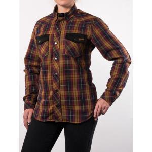 Damska koszula motocyklowa BROGER Alaska karmelowa