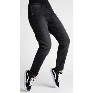 Damskie jeansy motocyklowe BROGER California czarne wyprzedaż