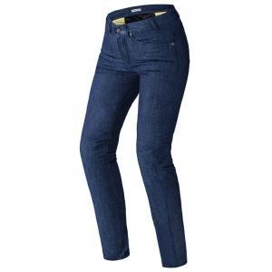 Damskie jeansy motocyklowe Rebelhorn Classic II ciemno niebieskie